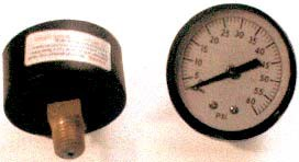 "1/4"" NPT SIDE-MOUNT PRESSURE GAUGE (O-6 100/CTN"